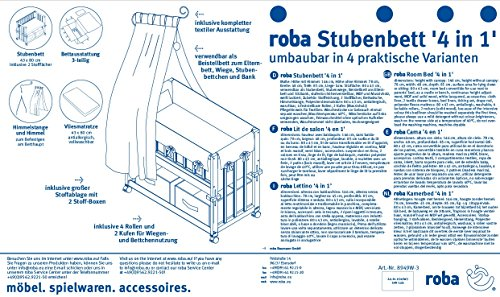 Roba Stubenbett 4in1 - 5