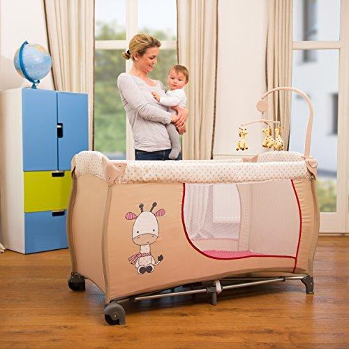 Hauck Babycenter Reisebett Giraffe - 3